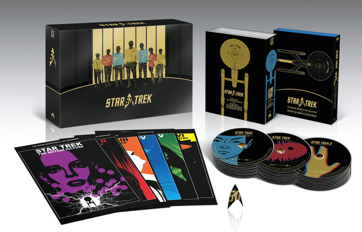 """""""Star Trek 50th Anniversary TV and Movie Collection"""" 