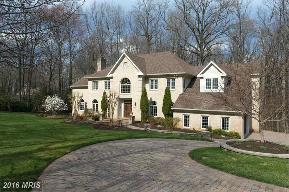 Ben Carson's Vienna, Virginia mansion which he bought in 2017 for $1.2 million
