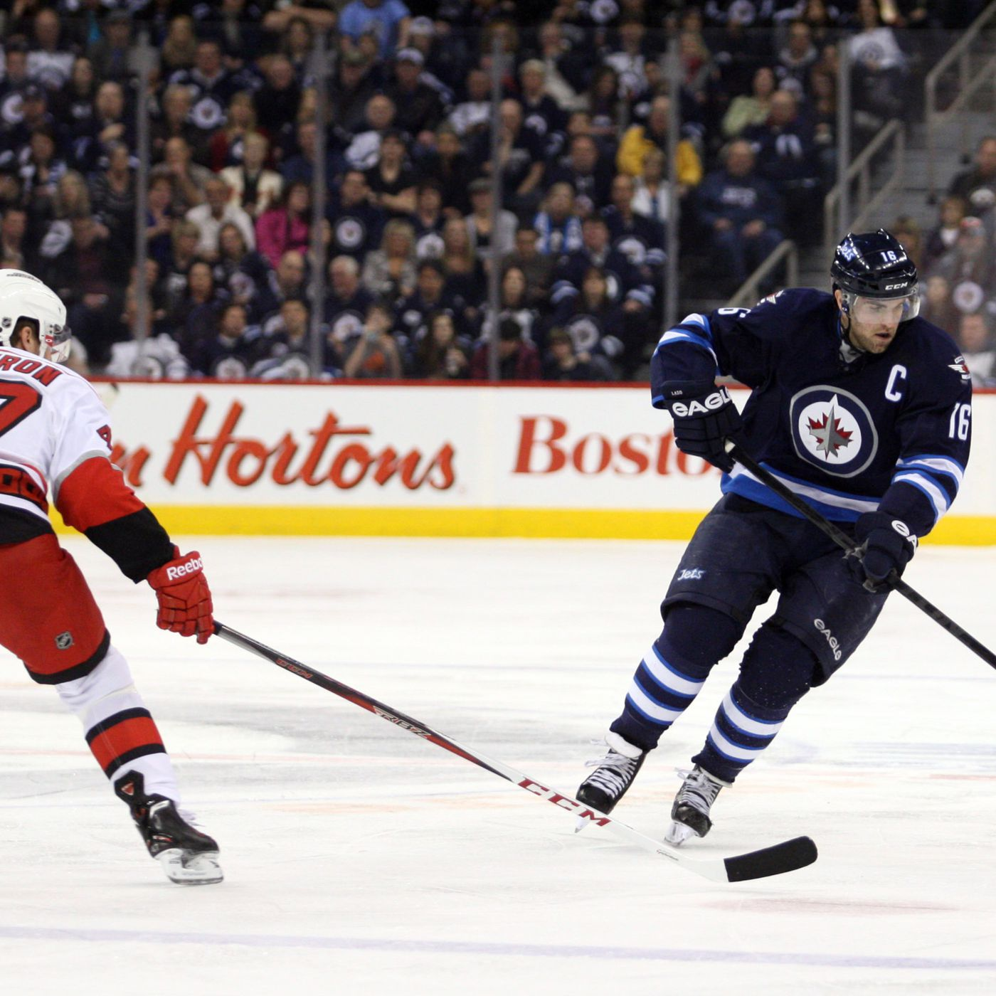 NHL Zone Entry Data: Winnipeg Jets 4, Carolina Hurricanes 3