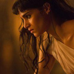 "Sofia Boutella as Ahmanet in ""The Mummy."""