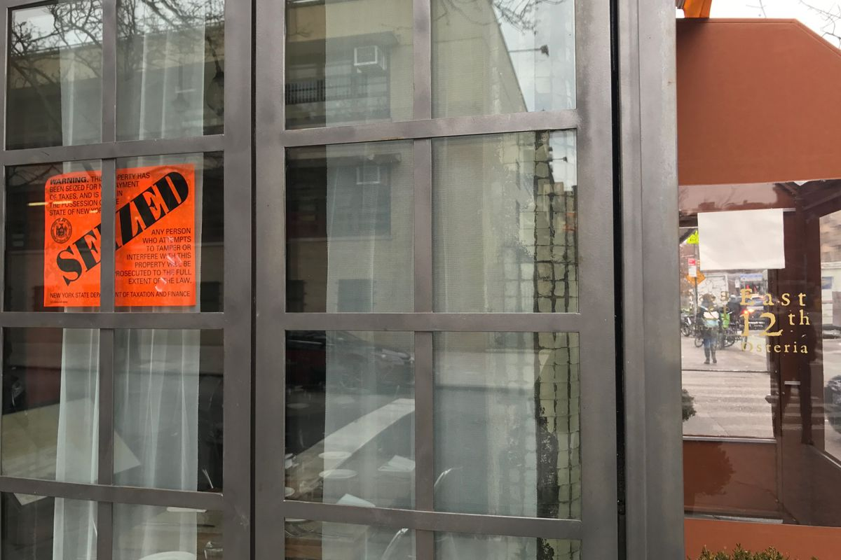 East 12th Osteria is now closed.