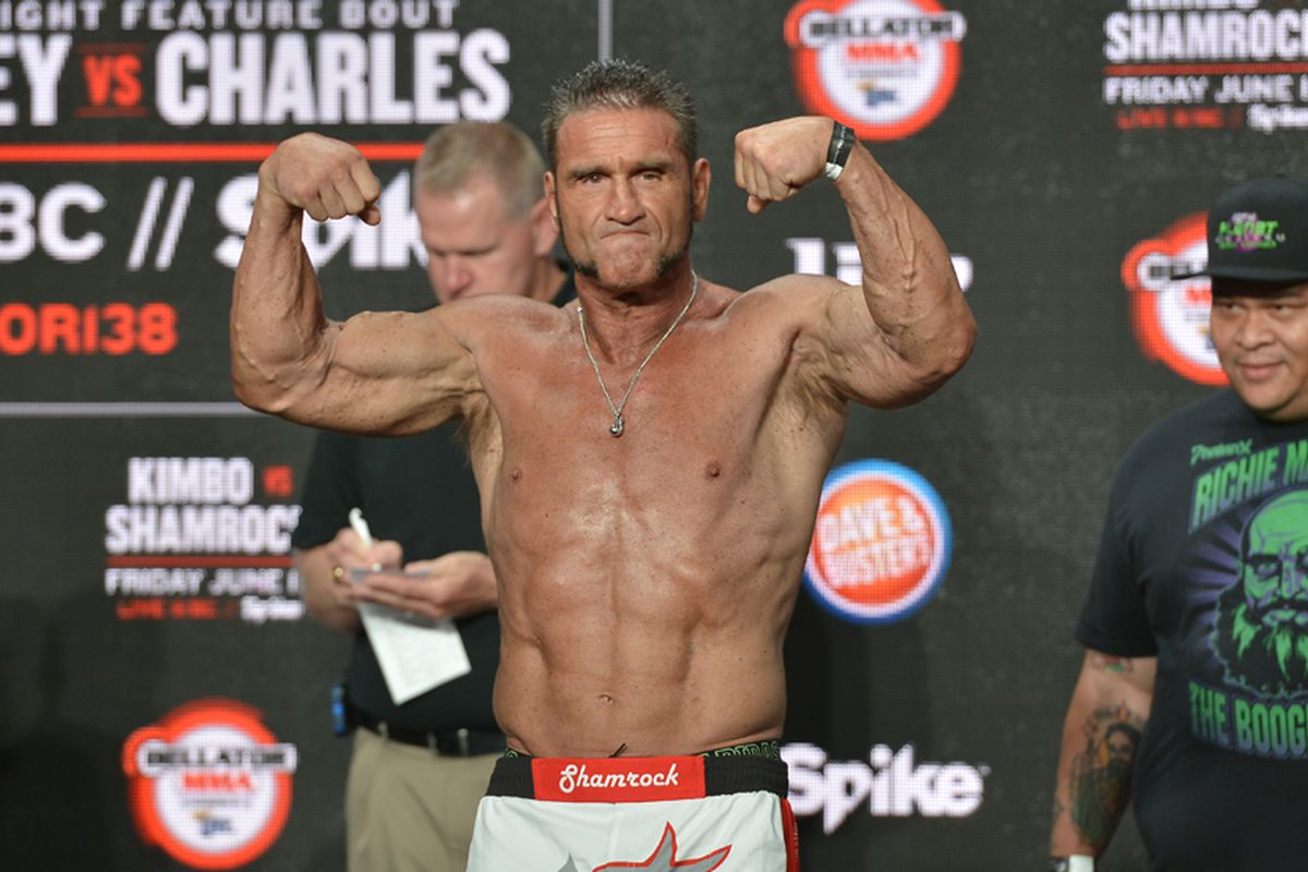 bellator preview kimbo slice vs ken shamrock the fight that