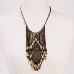 """This heather scout necklace by Heritage Trust, $<a href=""""http://www.candystorecollective.com/collections/30-sale/products/heatherscoutnecklace"""">30</a>, was $44"""