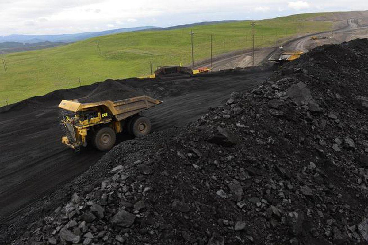 The Colowyo coal mine in Craig. (Helen H. Richardson, The Denver Post)