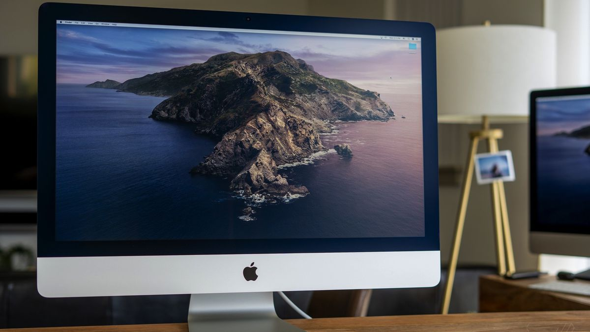 Apple iMac 27-inch (2020) review: new webcam, new screen ...