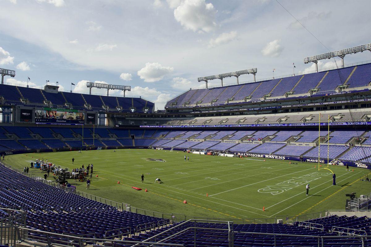 NFL: Preseason-Carolina Panthers at Baltimore Ravens