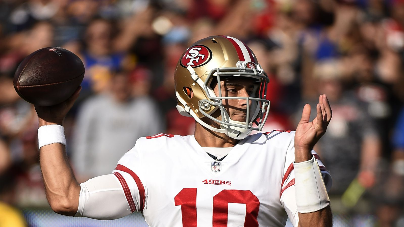 "Breida on Garoppolo's transition in learning the offense: ""It's amazing"""