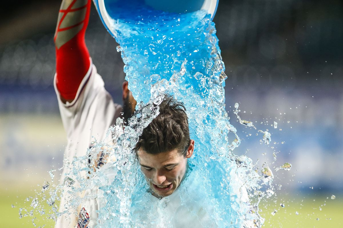 MLB: Game Two-Los Angeles Angels at Texas Rangers