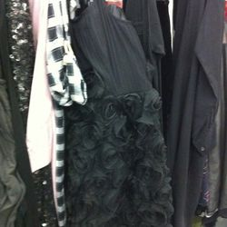 Look - a Marc by Marc Jacobs LBD peeking out of the racks