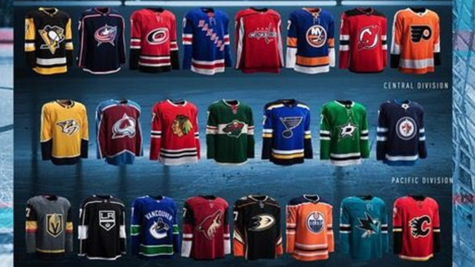 official photos c46ec b6677 NHL's new Adidas jerseys leak online hours before official ...