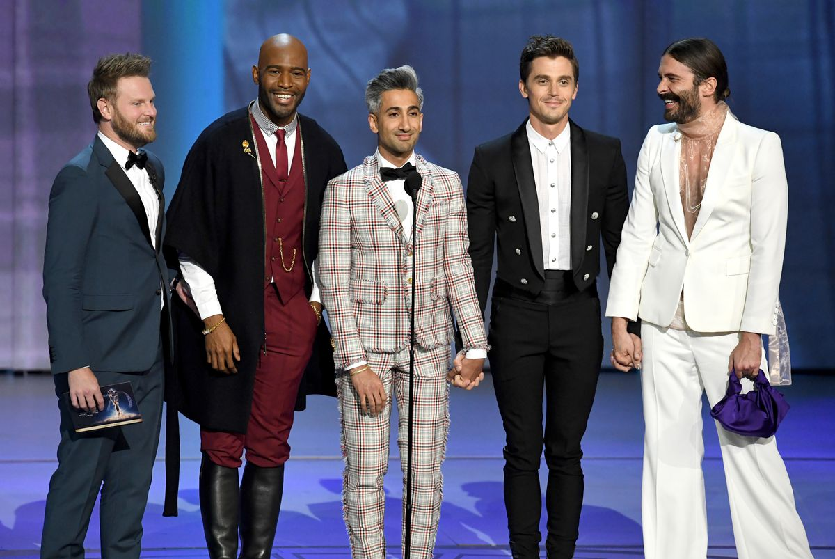 70th Emmy Awards - cast of Netflix's Queer Eye