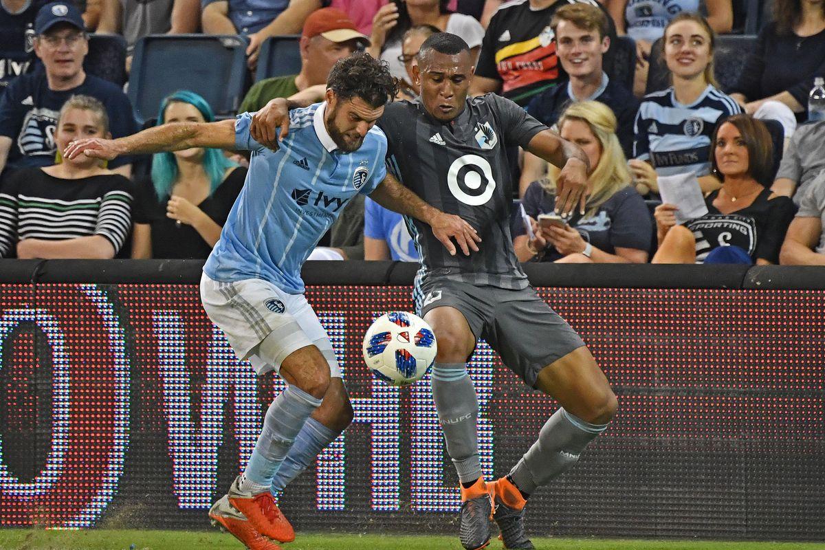 MLS: Minnesota United FC at Sporting KC