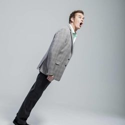 Fans often say that Brian Regan's facial expressions are what really makes his shows. He says this part of his act is something that he doesn't have to practice; it just comes naturally.