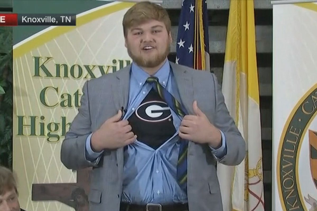 Breaking down Cade Mays' commitment to Georgia