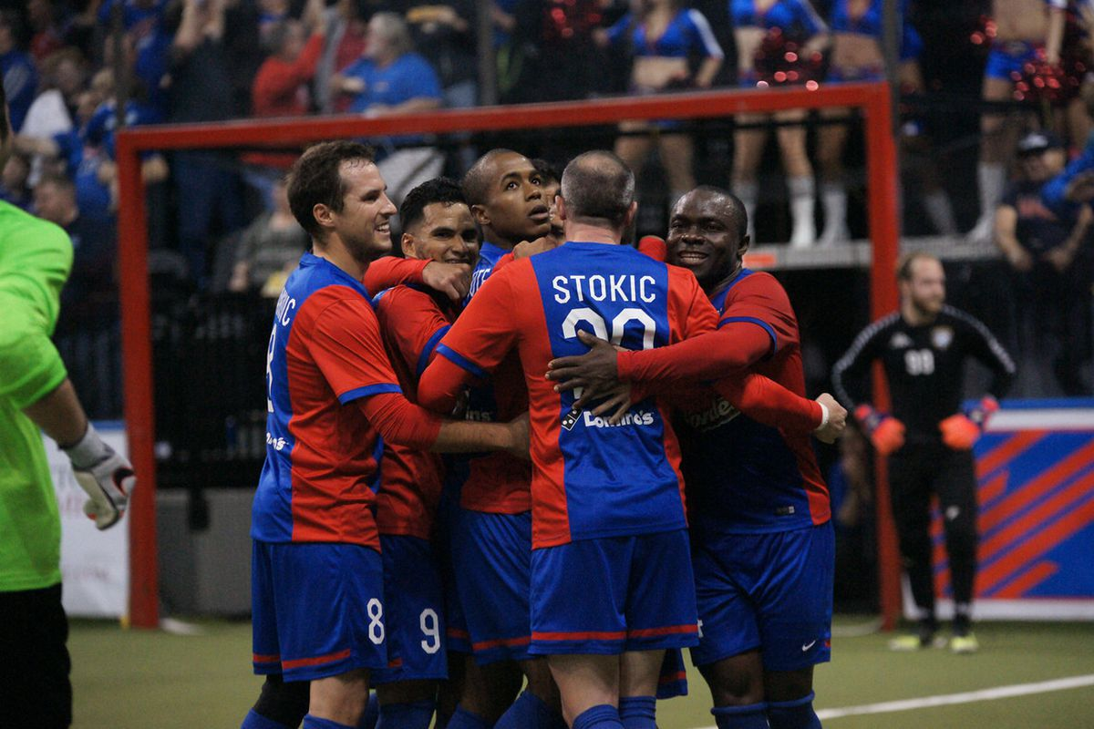 Comets celebrate another goal