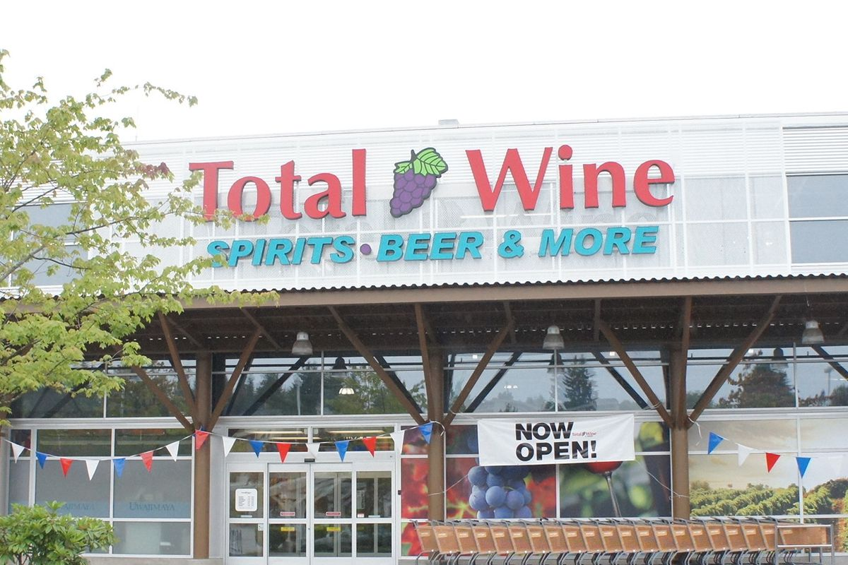 Total Wine (Bellevue store pictured, from opening in 2012)
