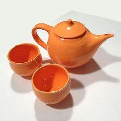 "Made in NYC ceramic <a href=""http://www.stadler-kahn.com/shop/product/judy-webber-tea-two/"">Judy Webber tea set</a>, $120 at Sansom Street's stadler-Kahn"