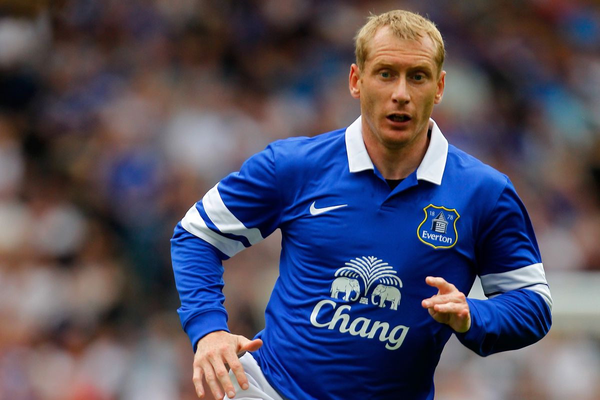 Tony Hibbert found playing time for the U21s, putting in a classic Hibbert performance this time at centre half