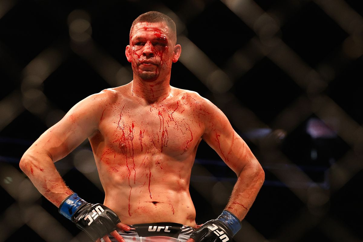 Nate Diaz wants to keep himself active in 2021.