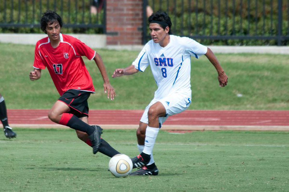 Josue Soto looks set to be the Houston Dynamo's newest signing. The two-time MLS Cup winning team will exercise their rights to sign the player, a midfielder at SMU and a product of the Dynamo Academy system.