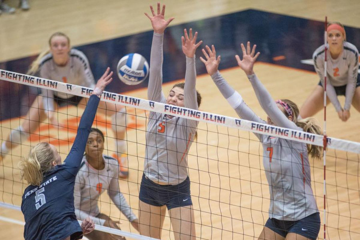 Behind Enemy Lines: Illinois Volleyball - UW Dawg Pound