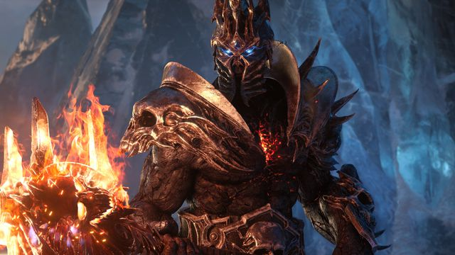 World of Warcraft: Shadowlands Bolvar Lich King