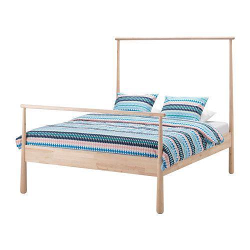 made of 100 solid pine wood this sturdy craftsman inspired bed from family run business grain wood furniture in virginia is rustic in the best way - Best Bed Frames