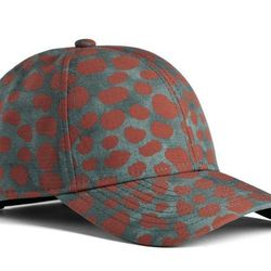 """<strong>ACNE</strong> Camp Print Animal Snapback in Rust, <a href=""""http://shop.acnestudios.com/shop/men/accessories/camp-print-animal-rust.html"""">$170</a>"""