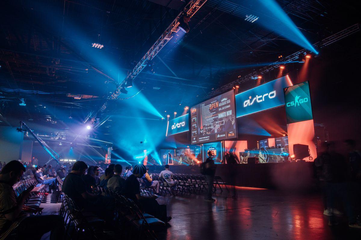 CSGO mainstage at DreamHack Atlanta 2018 at Georgia World Congress Center on November 17, 2018.