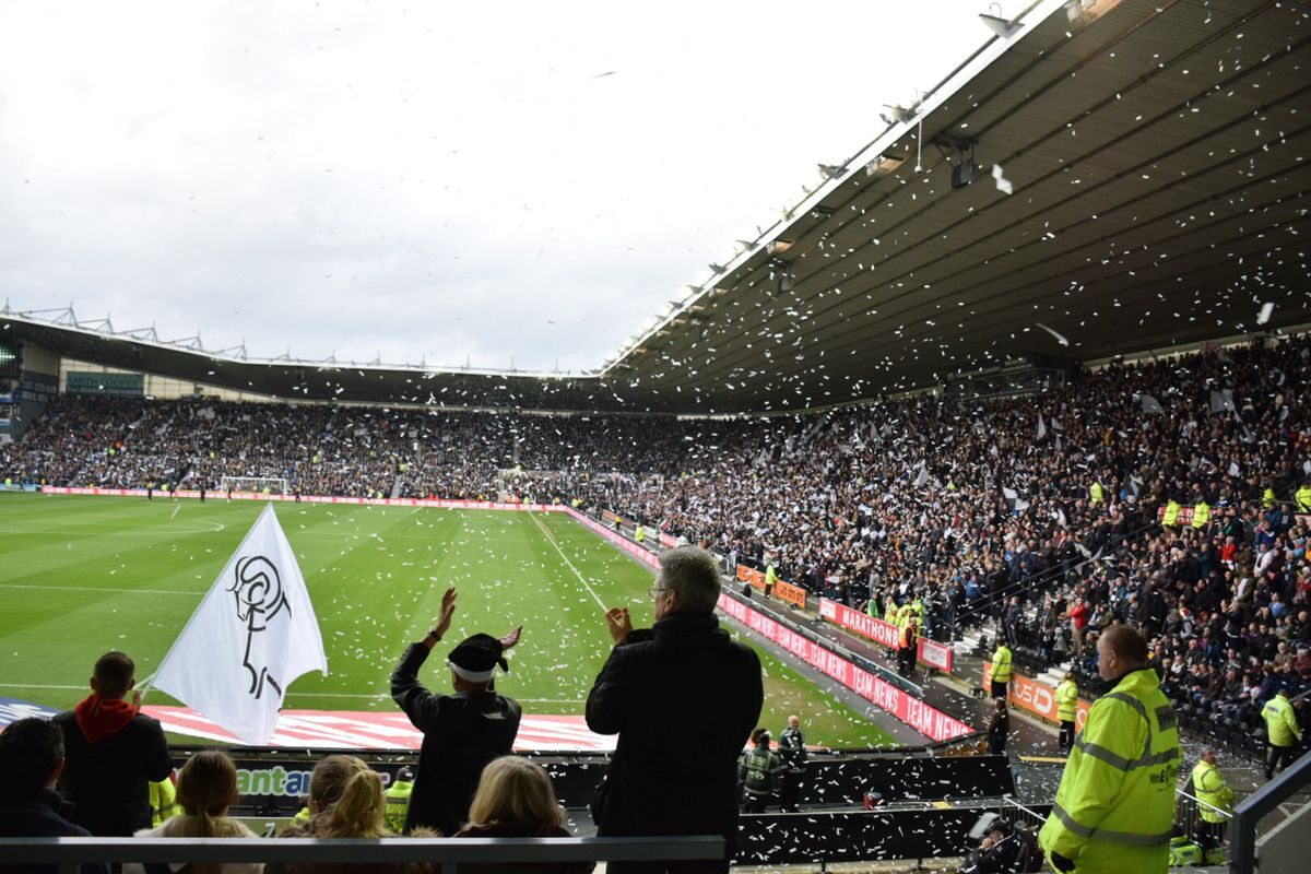Derby edged Fulham 2-0 on Boxing Day