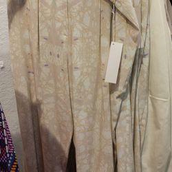 Silk Pants, $80