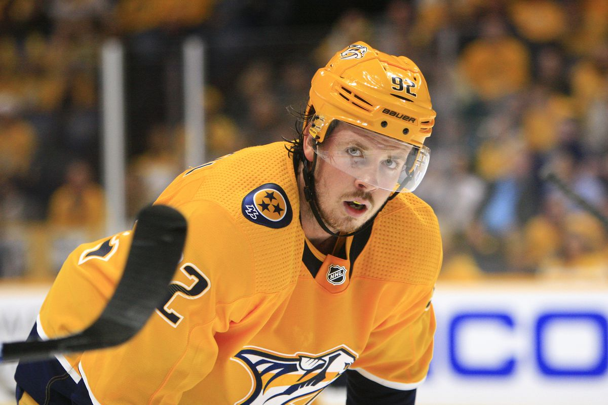 NHL: OCT 08 Sharks at Predators