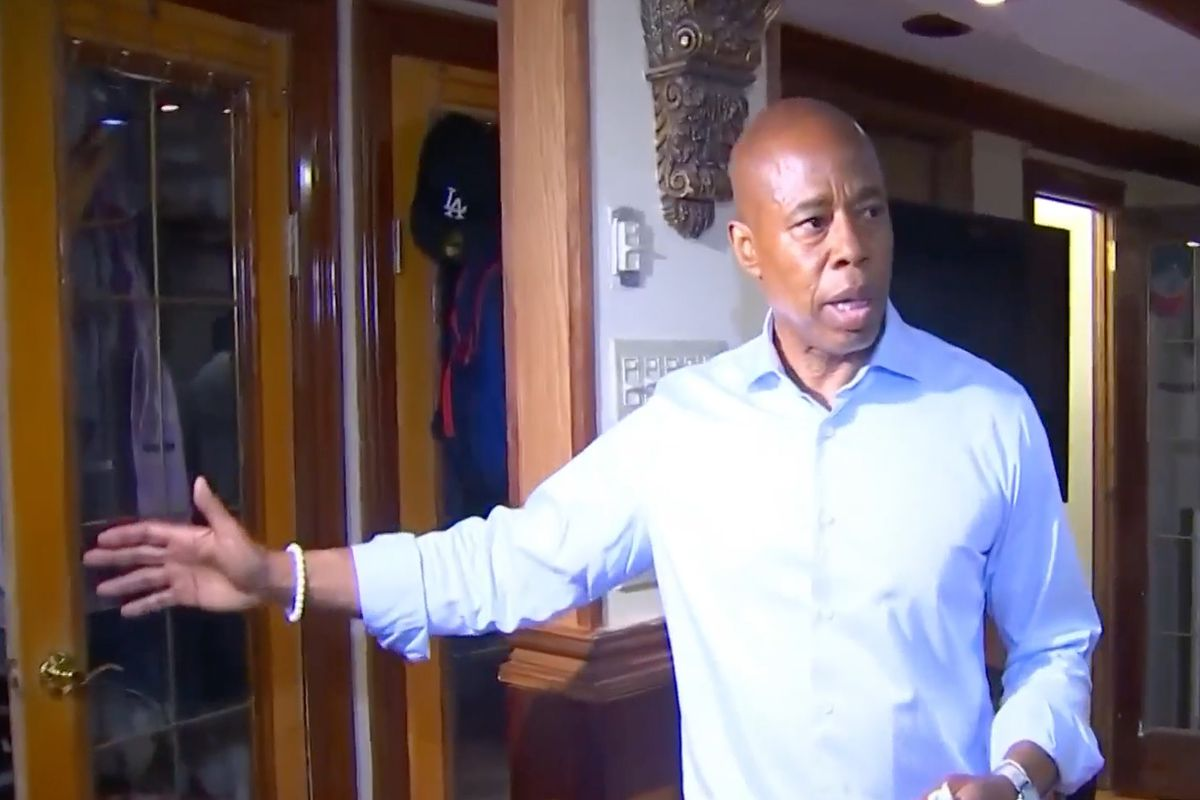 Brooklyn Borough President Eric Adams gives a tour of his Bed-Stuy home he says he shares with his son after questions arose during the mayoral campaign about this main residence, June 10, 2021.