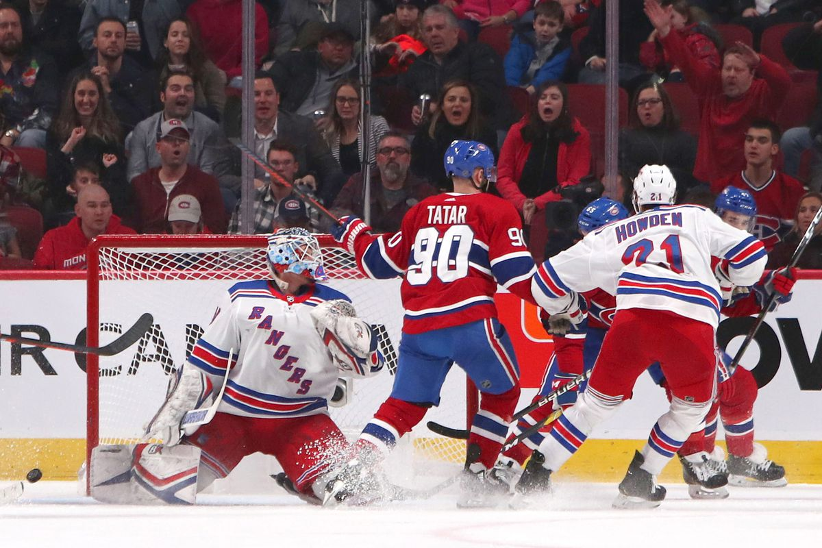 NHL: New York Rangers at Montreal Canadiens