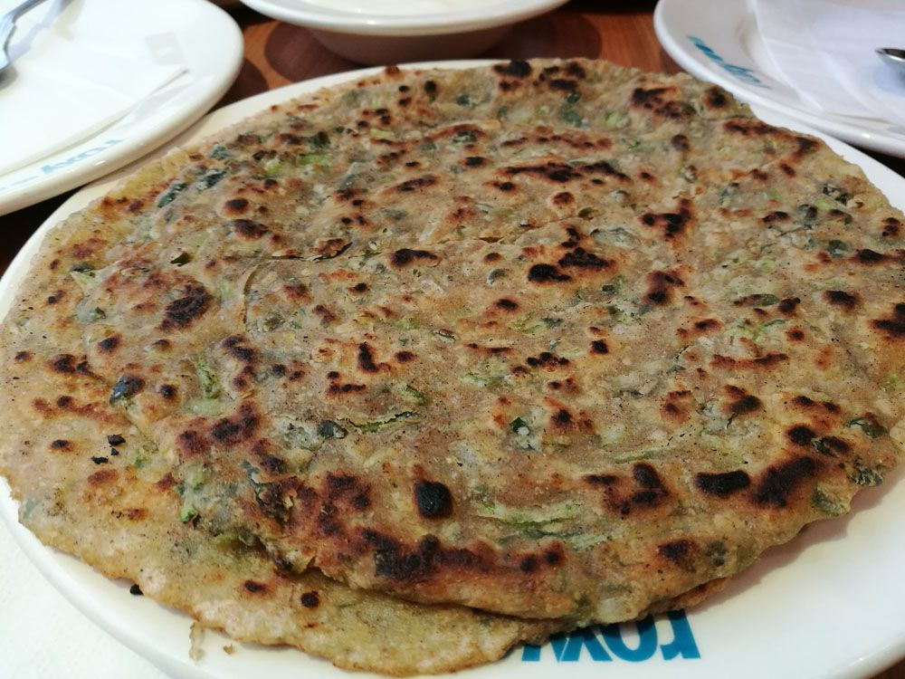 Roti at Roxy's, one of the best north Indian restaurants in London