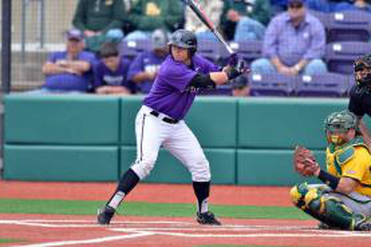 Kansas State Senior Outfielder Jared King Has Led The Wildcats To The Top 16