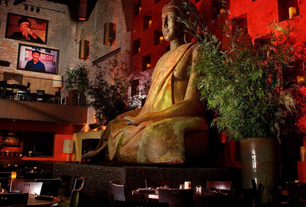 A giant Buddha