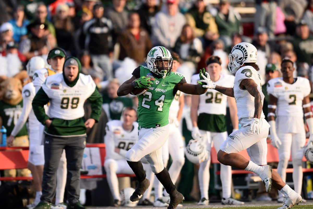 Marshall defeats Colorado State in Gildan New Mexico Bowl