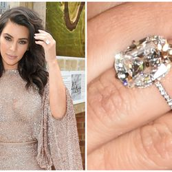 25 unforgettable celebrity engagement rings racked notorious perfectionist kanye west put his exacting eye to good use when creating this 15 junglespirit Images