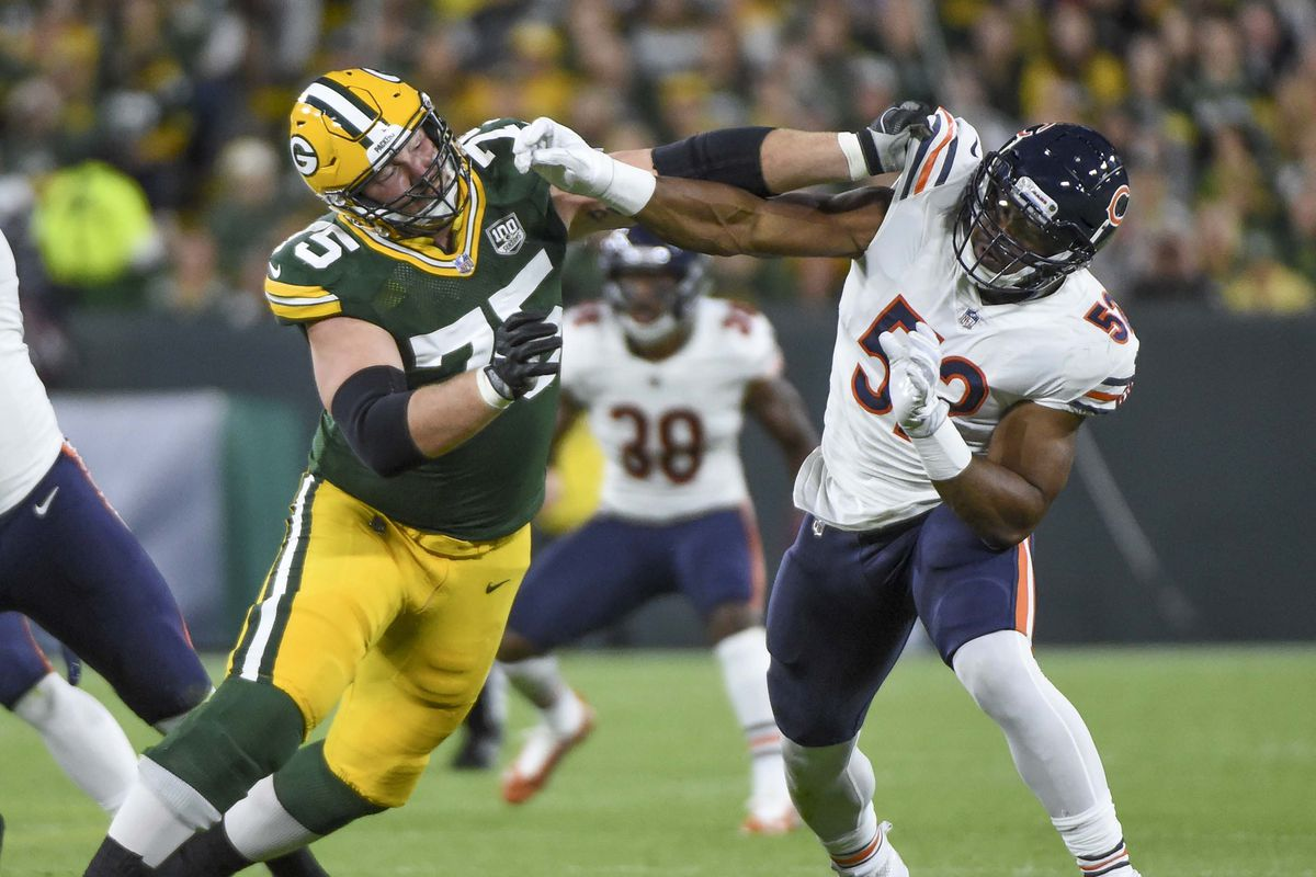 3b8dadd9 Packers-Bears Film Room: The tale of two Bryan Bulagas - Acme ...