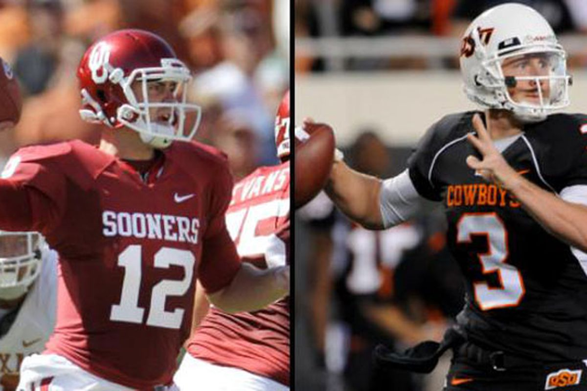 It's a two horse race in the Big 12 this year according to Vegas.  And this just in, they know some things.