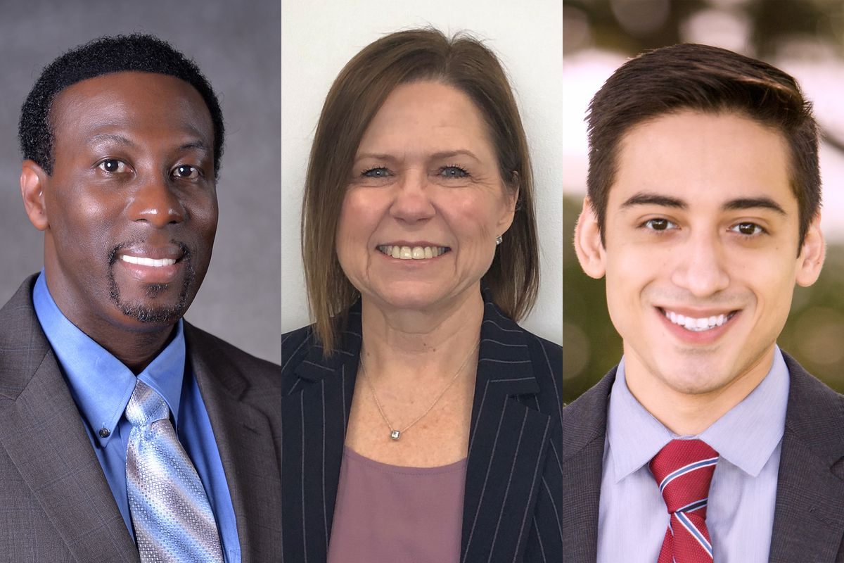 Timothy Gadson, Wendy Gonzalez and Jharrett Bryantt are the three finalists for the next superintendent of the Salt Lake City School District.