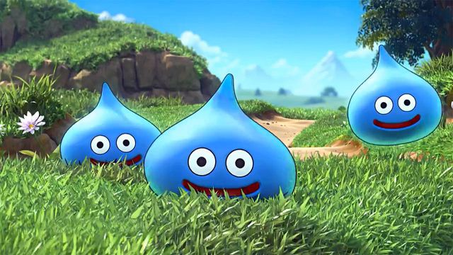 Dragon Quest slimes