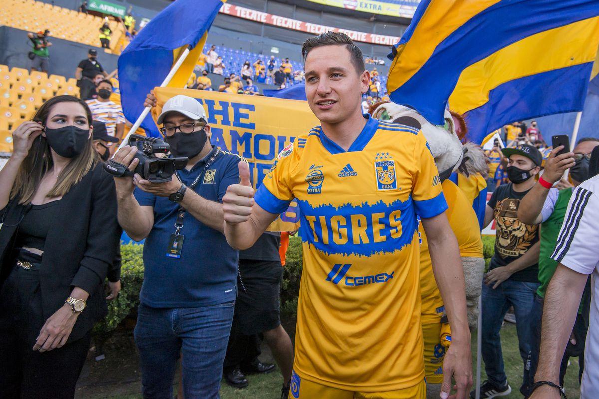 Tigres UANL Unveils New Signing Florian Thauvin