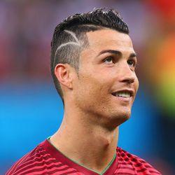 "The rumor that <b>Cristiano Ronaldo's</b> haircut intentionally resembles a boy's brain surgery scars is <a href=""http://www.sbnation.com/lookit/2014/6/22/5832824/cristiano-ronaldo-hair-photo-usa-vs-portgual-lol-come-on-bro"">highly</a> (<a href=""http://de"