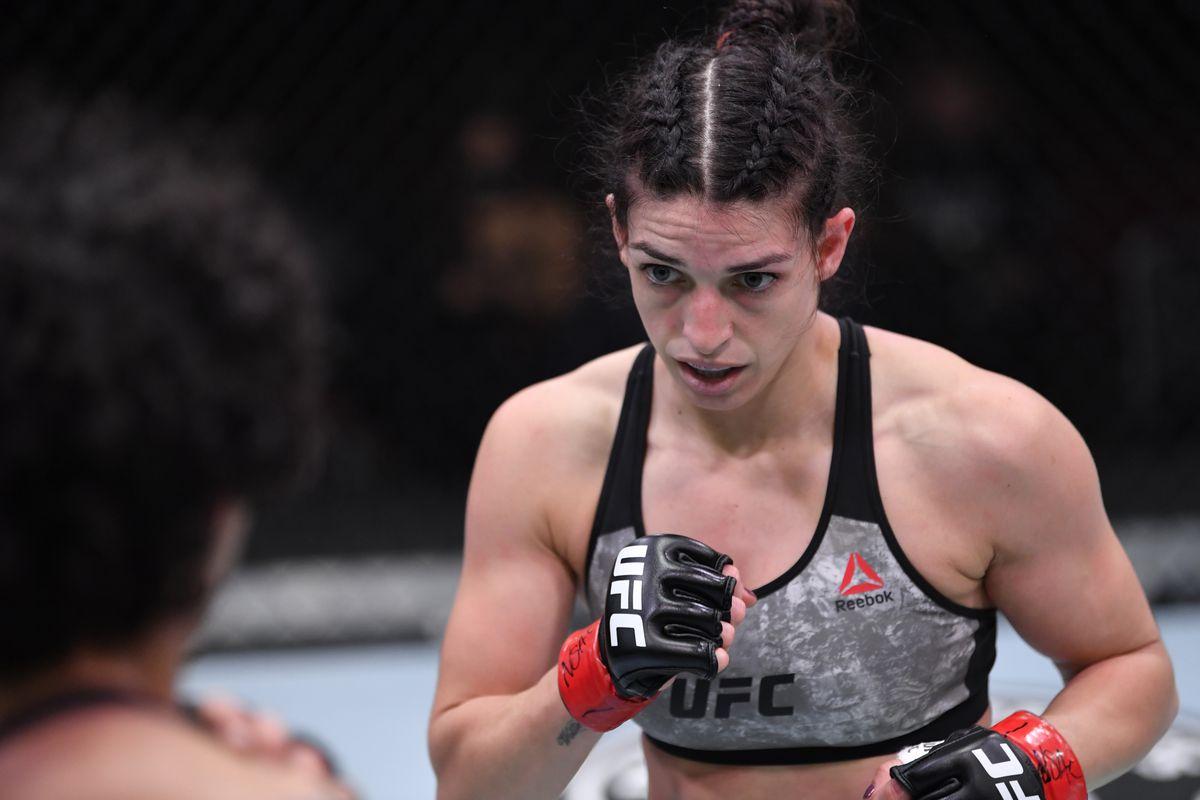 UFC 256: Dern v Jandiroba