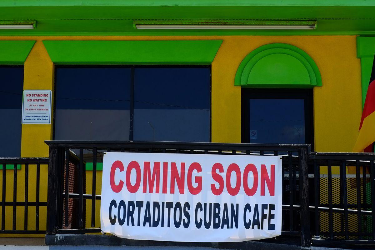 Cortaditos should be open now.