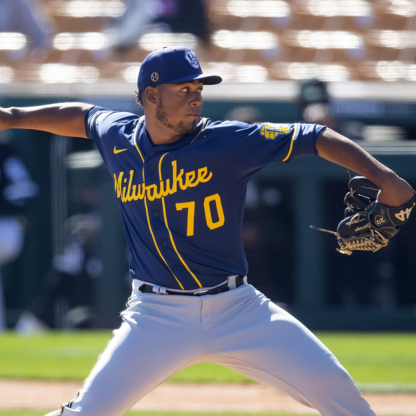 Quick scouting report on Milwaukee Brewers call-up Miguel Sánchez - Brew  Crew Ball