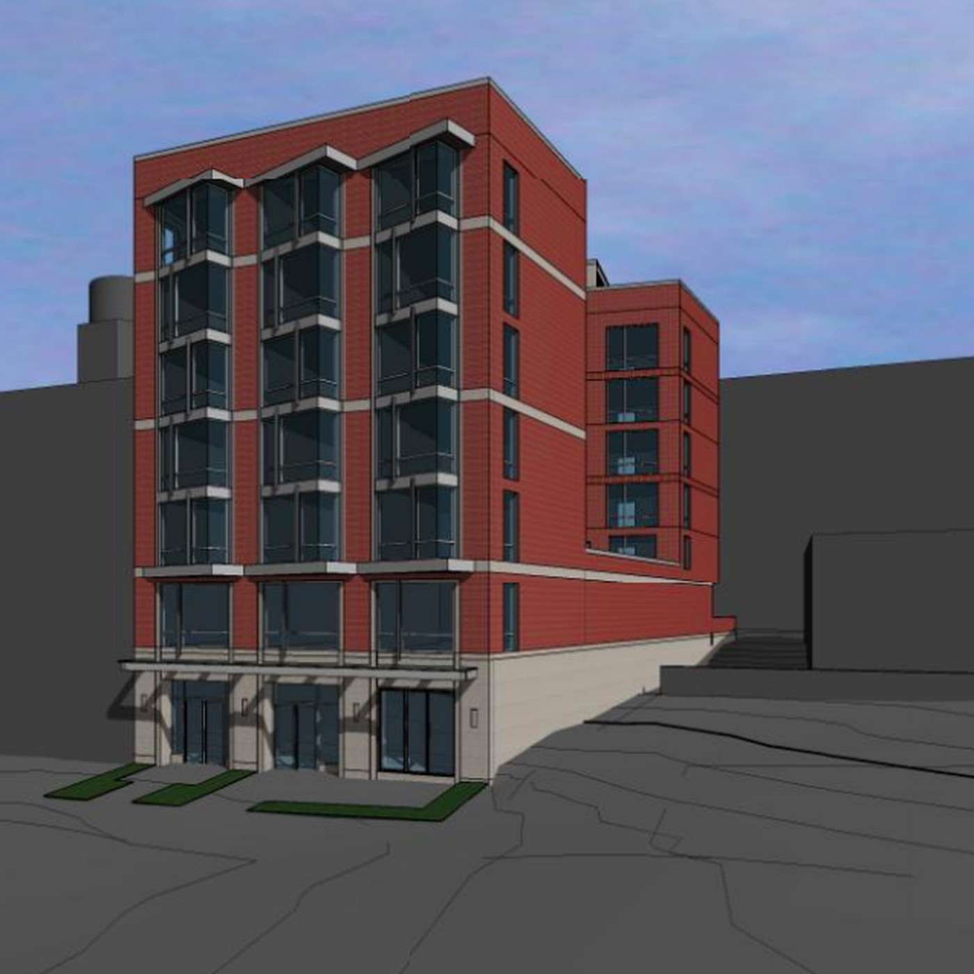 In Tenleytown, plans for 41-unit mixed-use project - Curbed DC
