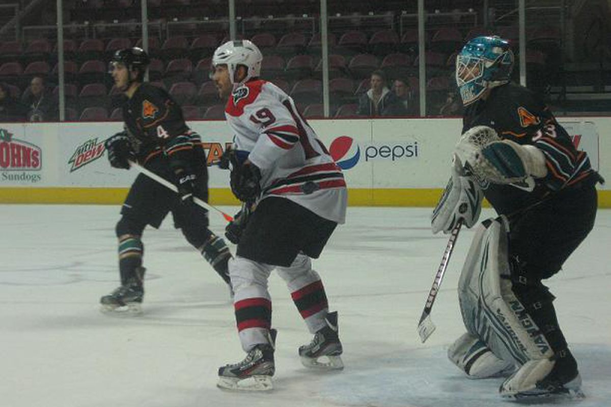 Forward Kevin Baker has a six game point streak going